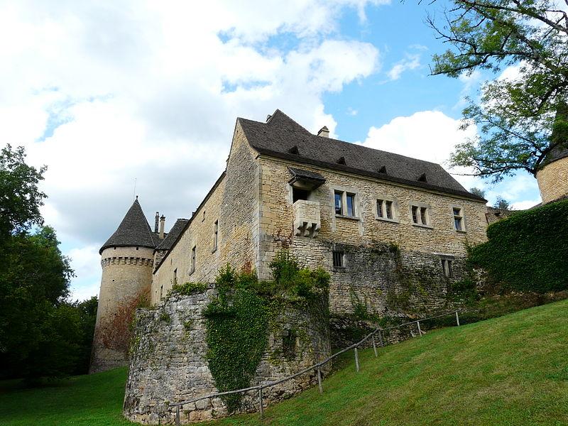 Photo du Monument Historique Château de Coulonges situé à Montignac