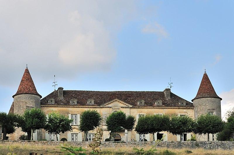 Photo du Monument Historique Château de Matecoulon situé à Montpeyroux