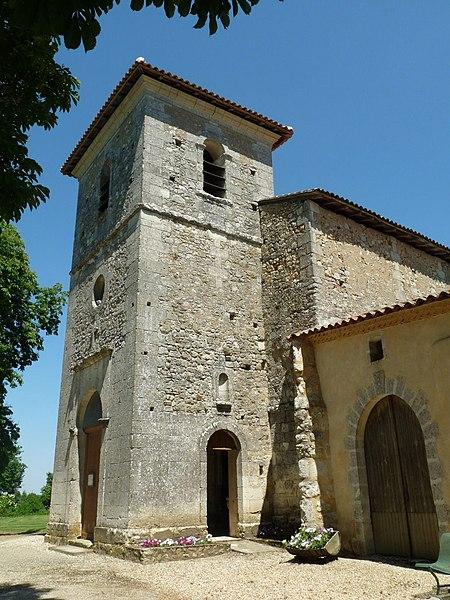 Photo du Monument Historique Eglise Saint-Martin situé à Parcoul