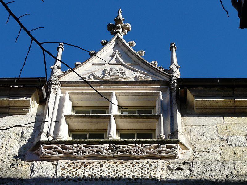 Photo du Monument Historique Hôtel d'Abzac de la Douze situé à Périgueux