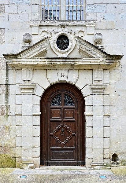 Photo du Monument Historique Hôtel de Fayolle situé à Périgueux