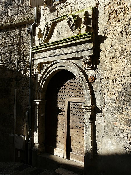 Photo du Monument Historique Maison situé à Périgueux