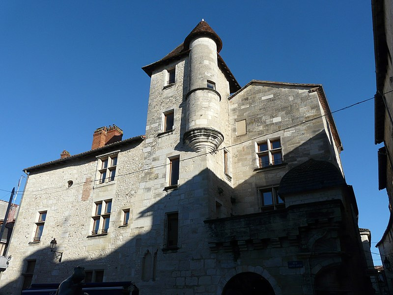 Photo du Monument Historique Maison dite La Maison du Pâtissier situé à Périgueux
