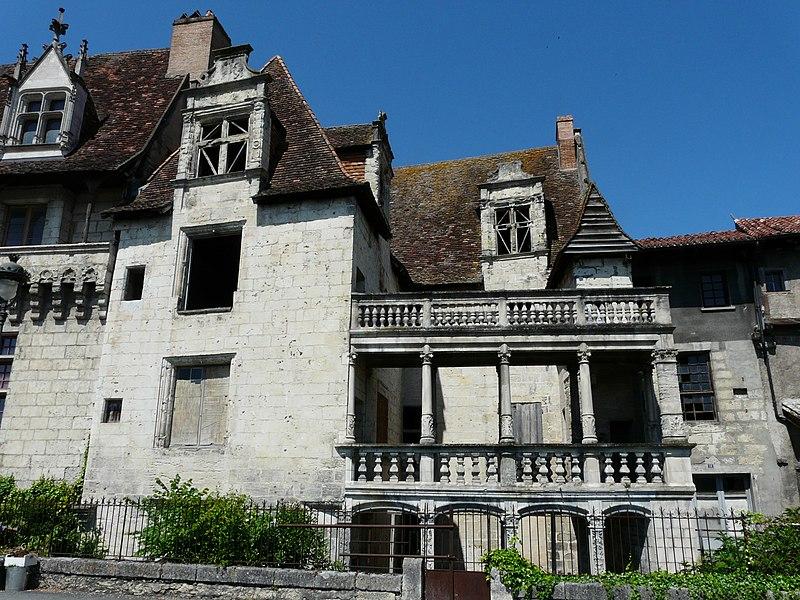 Photo du Monument Historique Maison Renaissance ou maison à colonnes situé à Périgueux