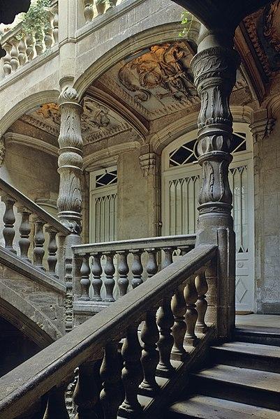 """Photo du Monument Historique Maison Renaissance ou ancien hôtel de Lestrade dit aussi """"hôtel de la Joubertie"""" situé à Périgueux"""
