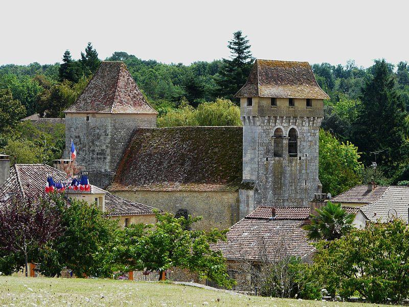 Photo du Monument Historique Eglise Notre-Dame de la Nativité situé à Pressignac-Vicq