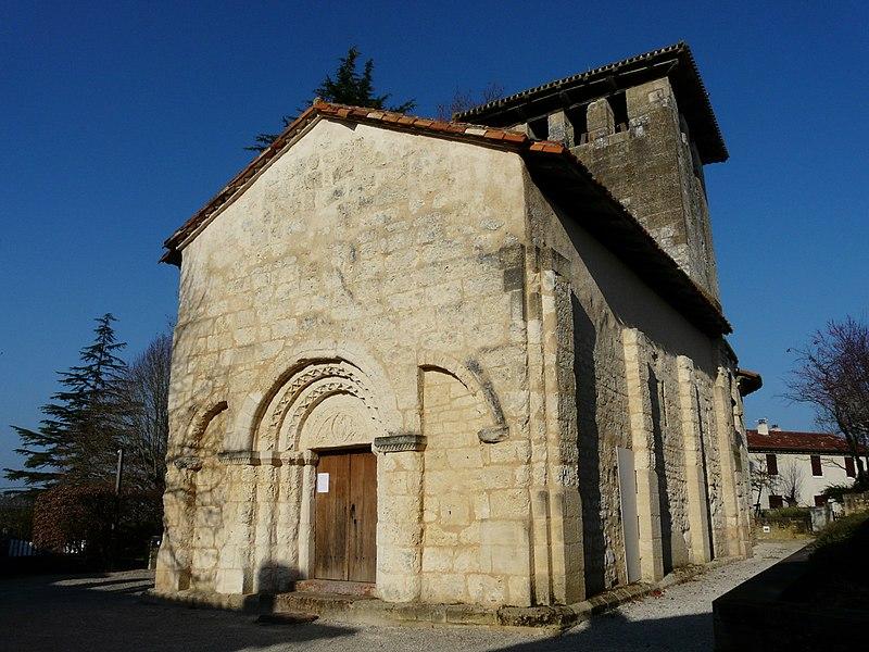 Photo du Monument Historique Eglise Saint-Pierre de Faye situé à Ribérac