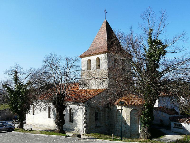 Photo du Monument Historique Ancienne église Notre-Dame situé à Ribérac