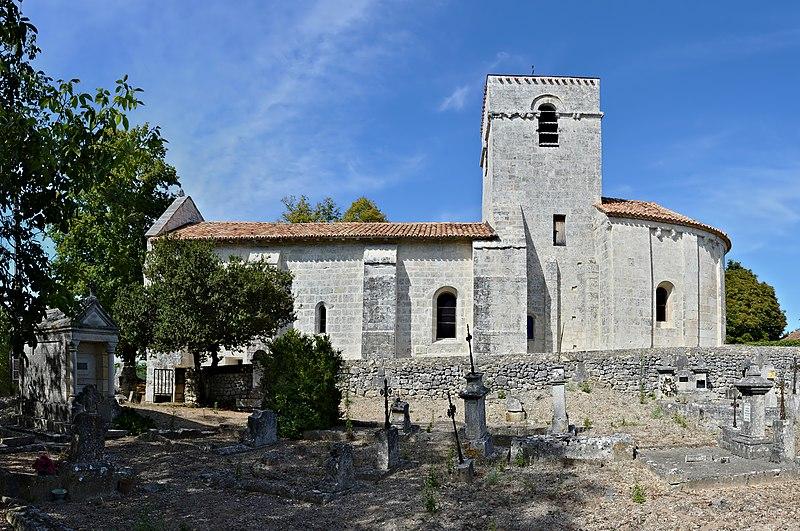 Photo du Monument Historique Eglise Saint-Martin d'Argentine situé à La Rochebeaucourt-et-Argentine