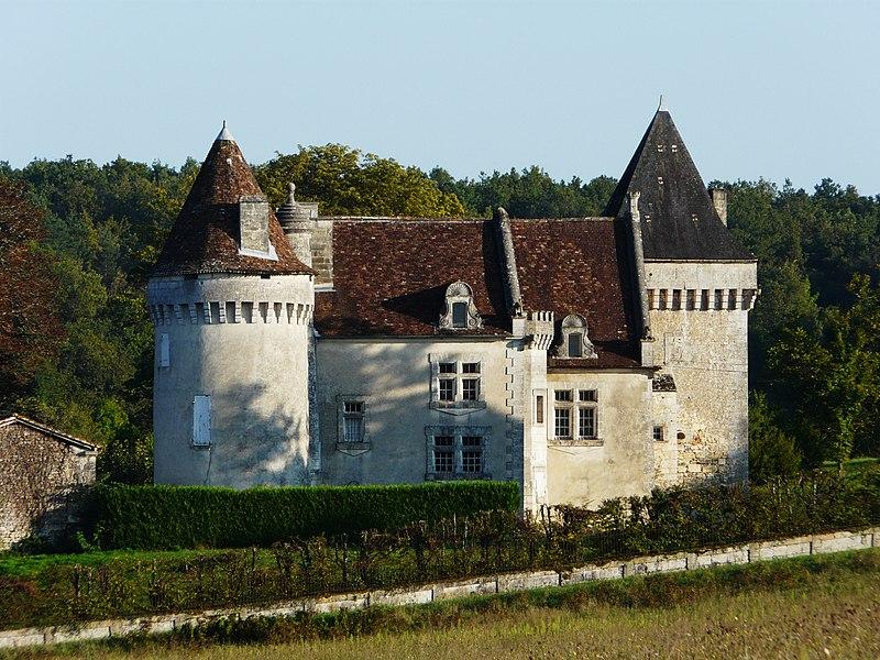 Photo du Monument Historique Château de Bellussière situé à Rudeau-Ladosse
