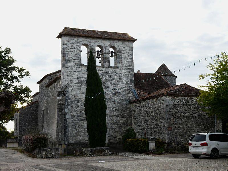 Photo du Monument Historique Eglise Sainte-Anne situé à Sadillac