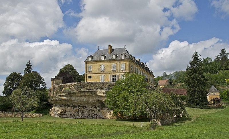 Photo du Monument Historique Château du Roc situé à Saint-André-d'Allas