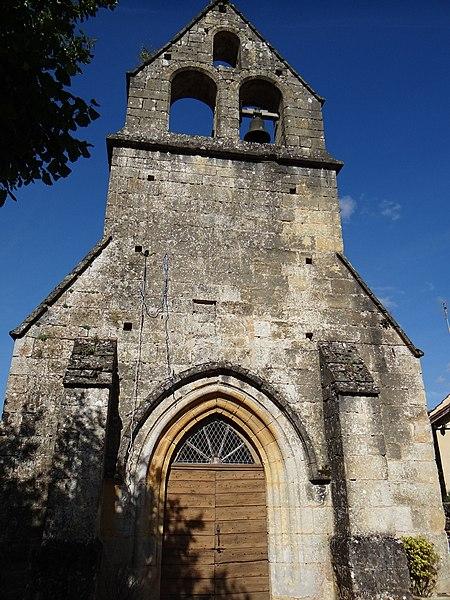 Photo du Monument Historique Eglise Saint-Barthélémy situé à Saint-André-d'Allas