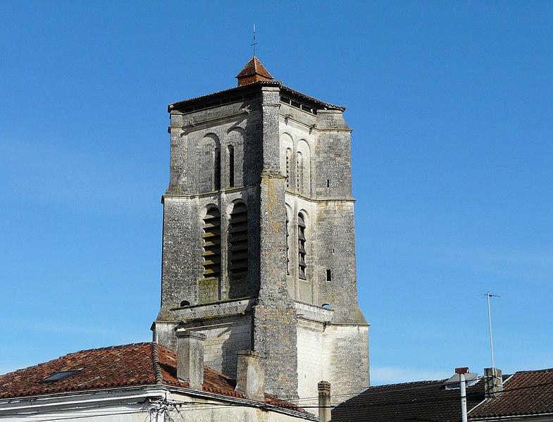 Photo du Monument Historique Eglise Saint-Astier£ situé à Saint-Astier