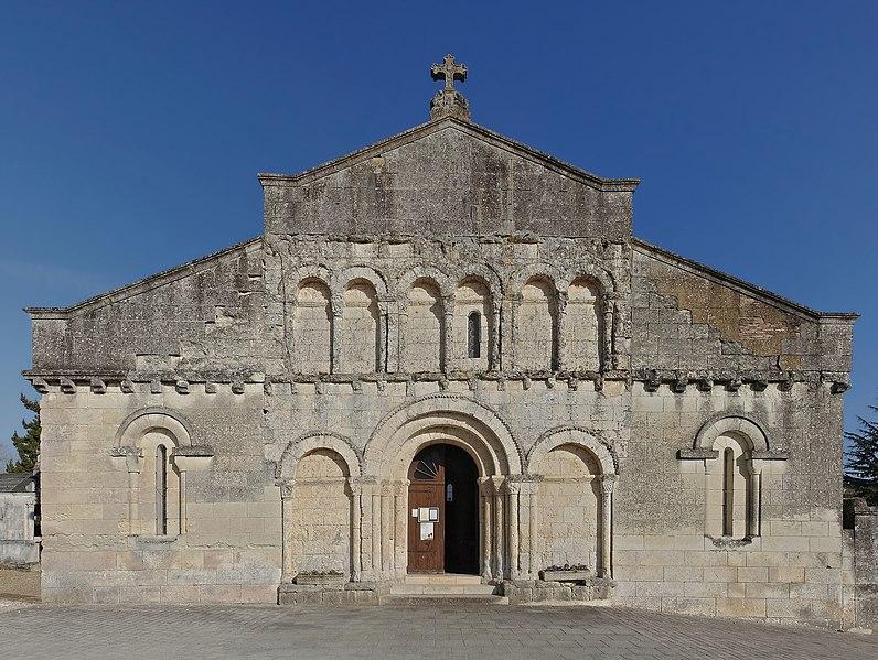 Photo du Monument Historique Eglise Sainte-Eulalie situé à Saint-Aulaye