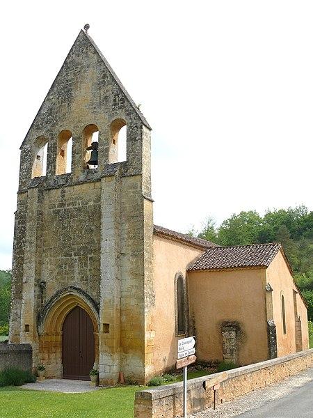 Photo du Monument Historique Eglise Saint-Avit situé à Saint-Avit-Rivière