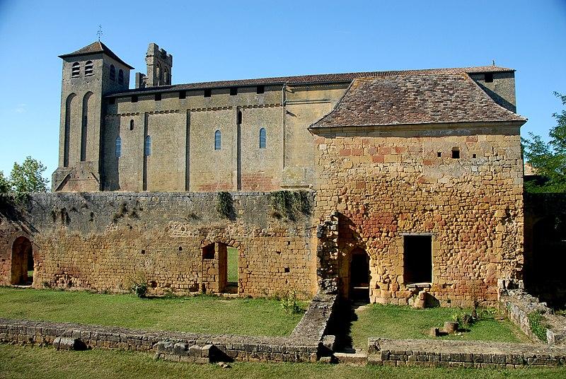 Photo du Monument Historique Ancienne abbaye situé à Saint-Avit-Sénieur