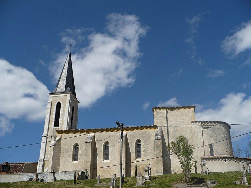 Photo du Monument Historique Eglise Saint-Caprais situé à Saint-Capraise-d'Eymet