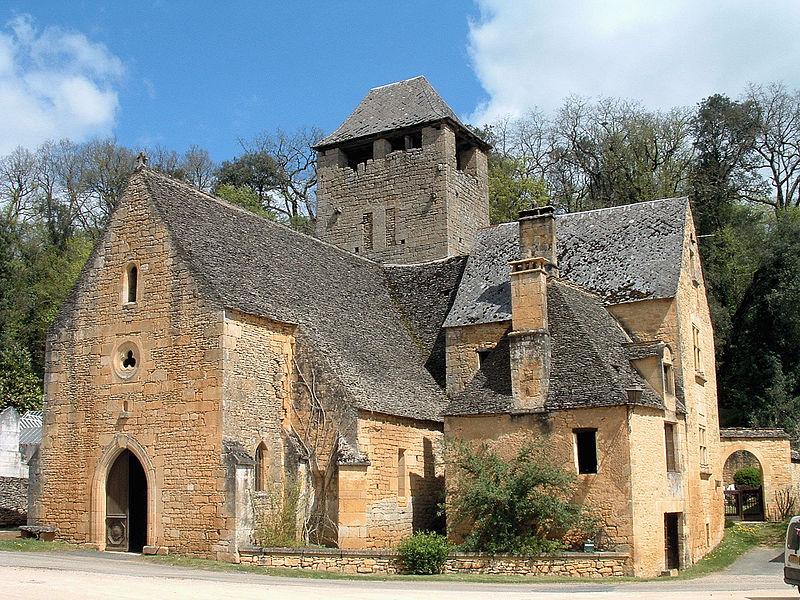 Photo du Monument Historique Eglise de Saint-Crépin situé à Saint-Crépin-et-Carlucet