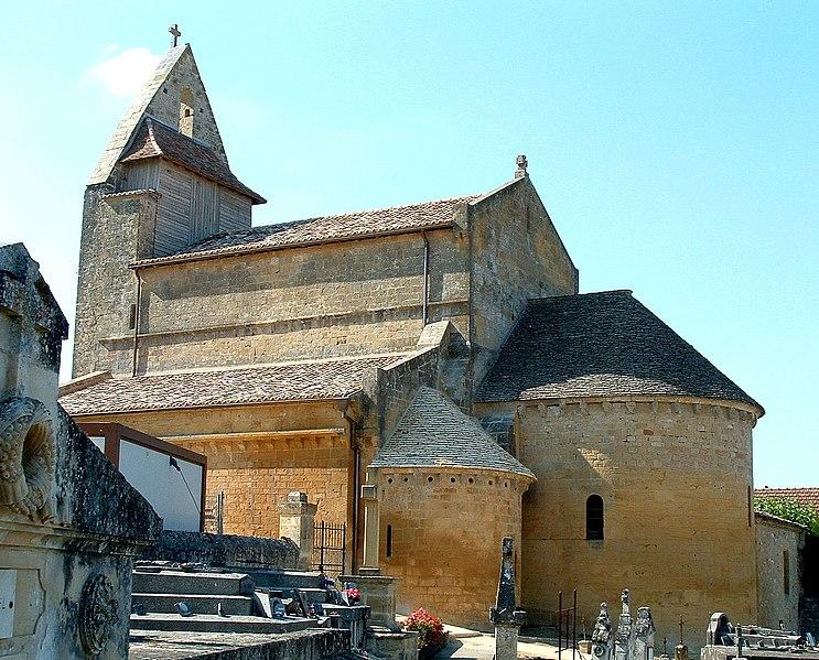 Photo du Monument Historique Eglise Sainte-Croix situé à Sainte-Croix