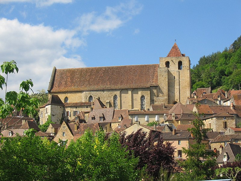 Photo du Monument Historique Eglise Saint-Cyprien situé à Saint-Cyprien
