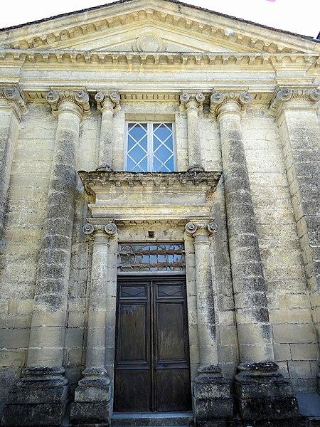 Photo du Monument Historique Château situé à Saint-Cyprien