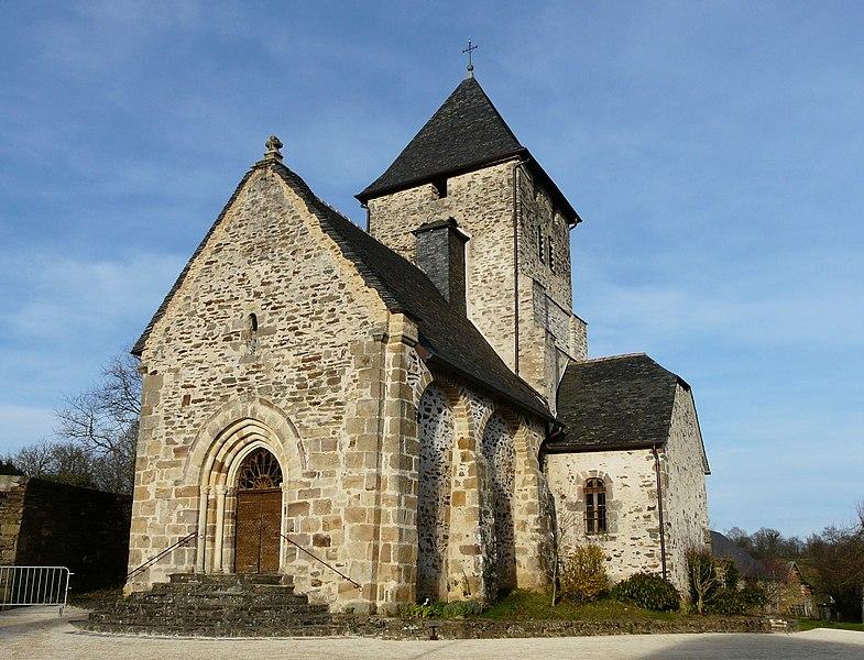 Photo du Monument Historique Eglise Saint-Cyr-et-Sainte-Juliette situé à Saint-Cyr-les-Champagnes