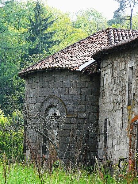 Photo du Monument Historique Restes du prieuré de Badeix situé à Saint-Estèphe