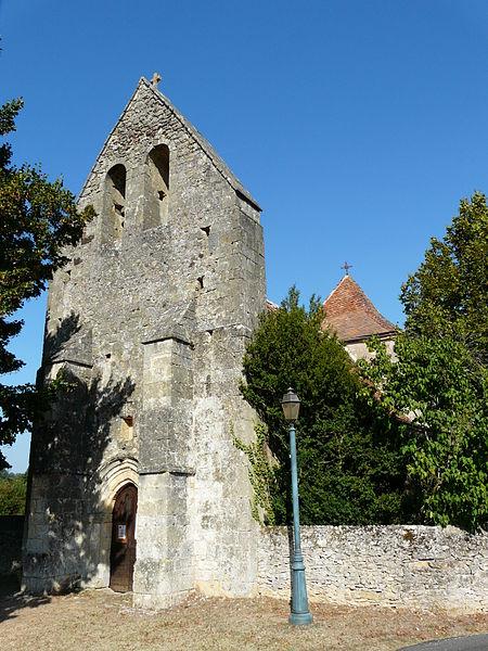 Photo du Monument Historique Eglise Saint-Jean et presbytère de Mortemart situé à Saint-Félix-de-Reillac-et-Mortemart
