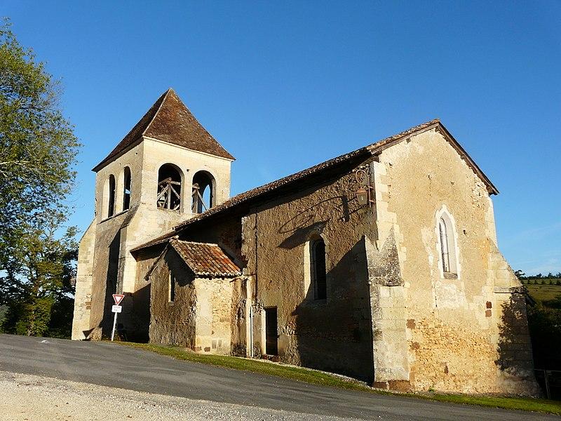 Photo du Monument Historique Eglise Saint-Cyr situé à Saint-Geyrac