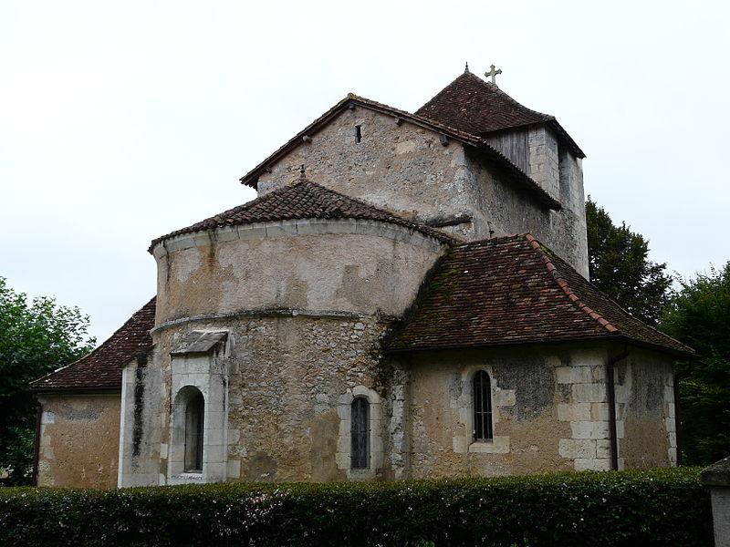 Photo du Monument Historique Eglise Saint-Hilaire situé à Saint-Hilaire-d'Estissac