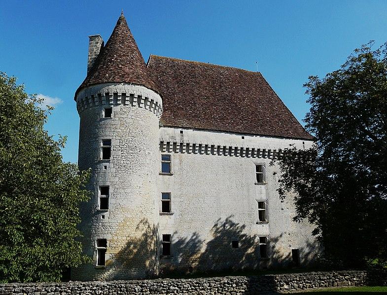 Photo du Monument Historique Château de Saint-Maurice situé à Saint-Laurent-des-Bâtons