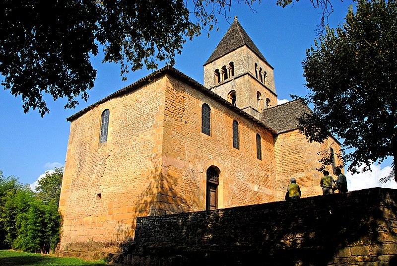 Photo du Monument Historique Eglise Saint-Léonce situé à Saint-Léon-sur-Vézère