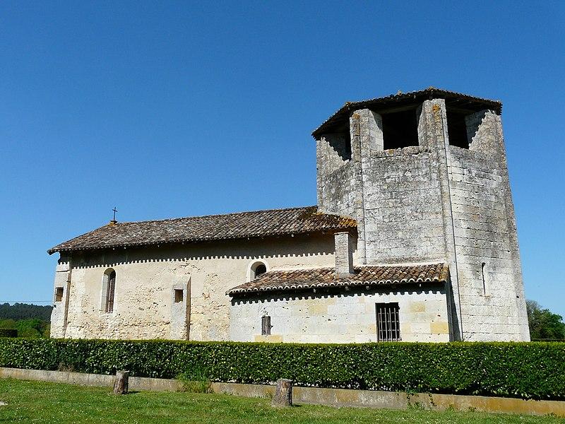 Photo du Monument Historique Eglise Saint-Martin situé à Saint-Martin-l'Astier
