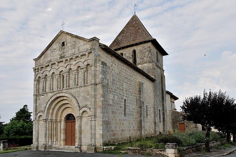 Photo du Monument Historique Eglise Saint-Martin£ situé à Saint-Martin-de-Gurson