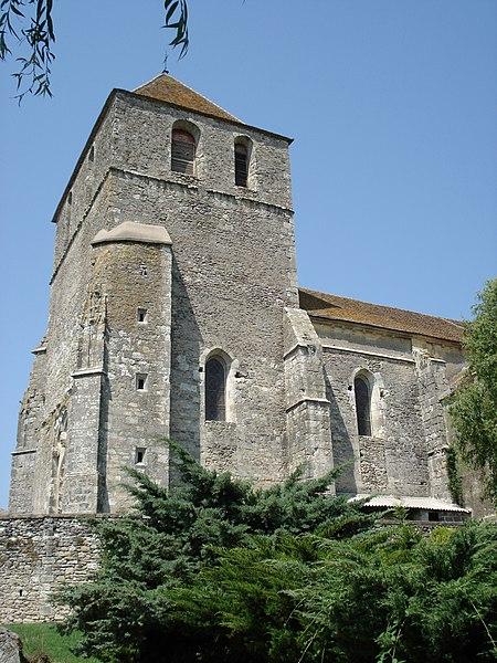 Photo du Monument Historique Eglise Saint-Méard situé à Saint-Méard-de-Gurçon