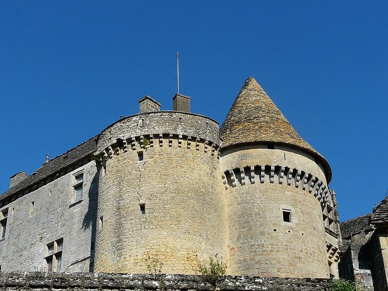 Photo du Monument Historique Château de Fénelon situé à Sainte-Mondane