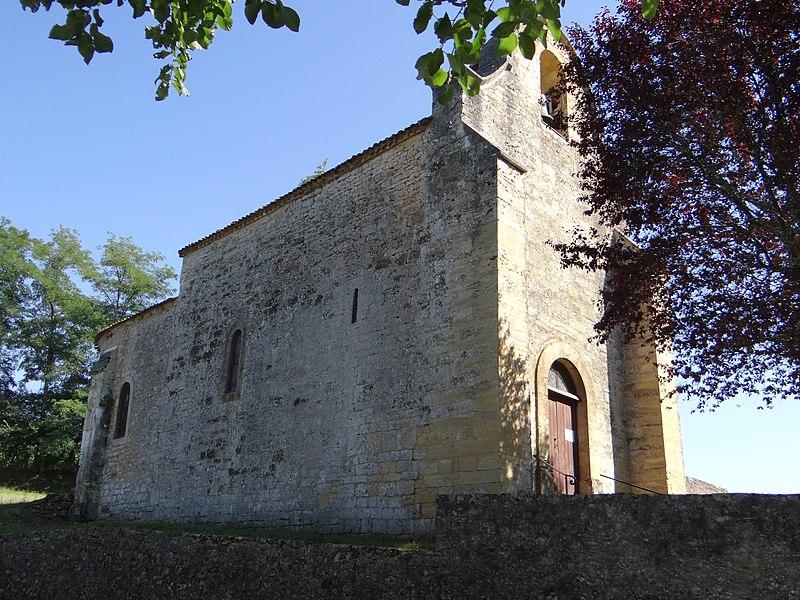 Photo du Monument Historique Eglise de Saint-Pardoux situé à Saint-Pardoux-et-Vielvic