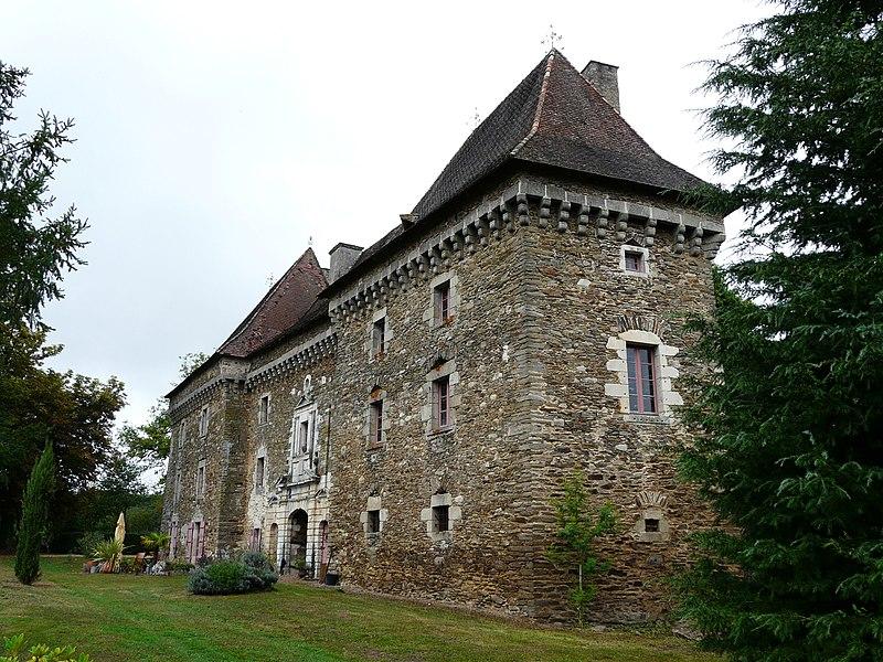 Photo du Monument Historique Château de Frugie situé à Saint-Pierre-de-Frugie
