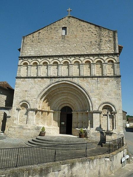 Photo du Monument Historique Eglise Saint-Privat situé à Saint-Privat-des-Prés