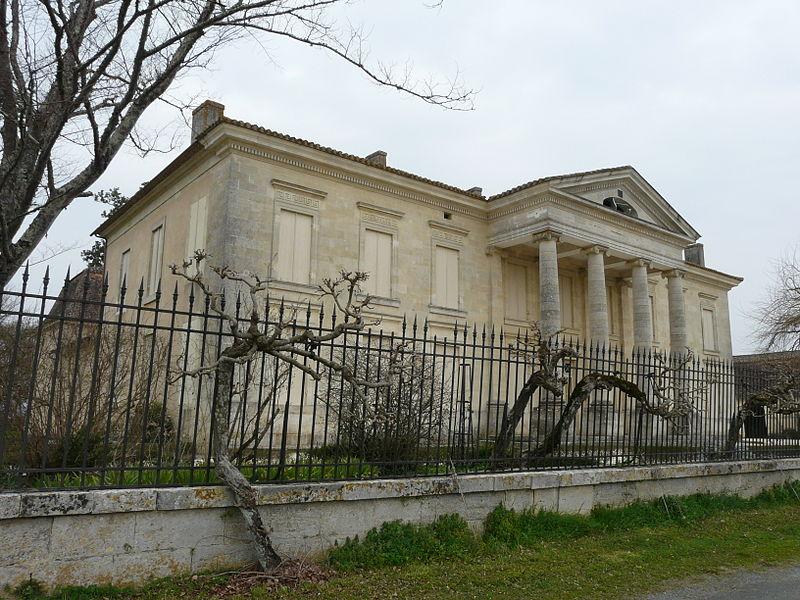 Photo du Monument Historique Château de Prats situé à Saint-Seurin-de-Prats