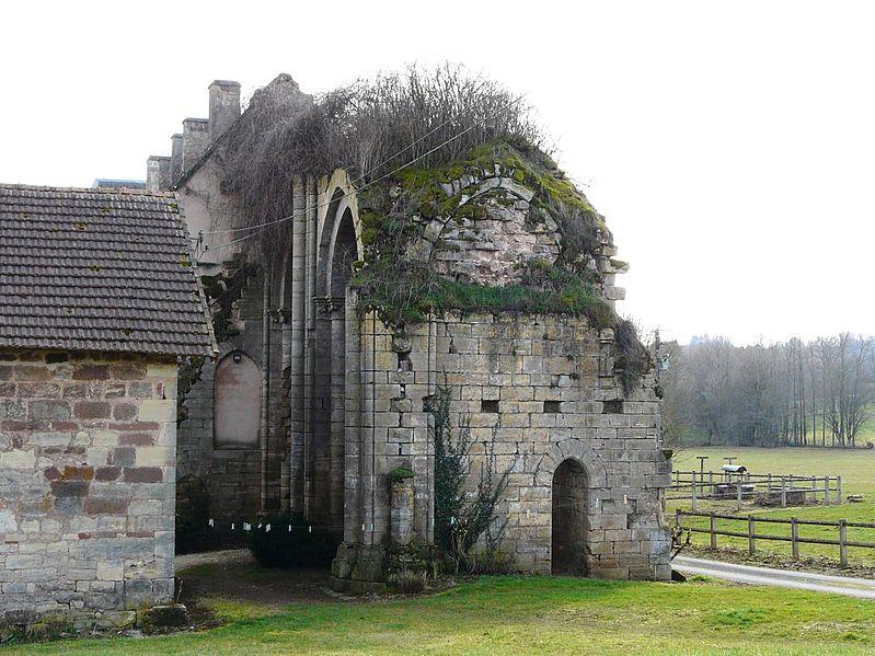 Photo du Monument Historique Abbaye de Dalon situé à Sainte-Trie