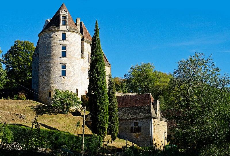 Photo du Monument Historique Château de Panassou situé à Saint-Vincent-de-Cosse