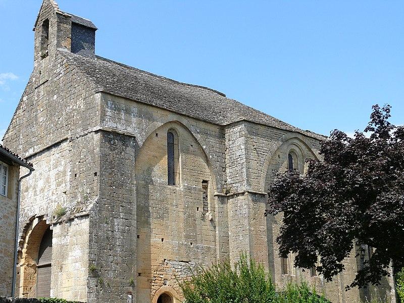 Photo du Monument Historique Eglise Notre-Dame de Temniac situé à Sarlat-la-Canéda