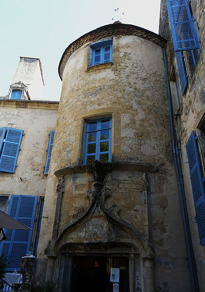 Photo du Monument Historique Hôtel situé à Sarlat-la-Canéda