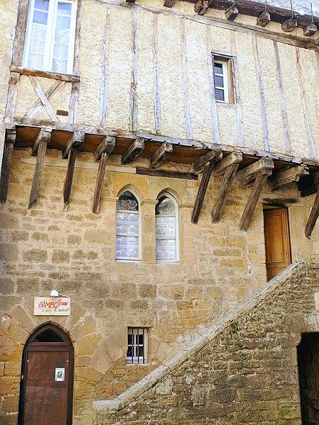 Photo du Monument Historique Immeuble situé à Sarlat-la-Canéda
