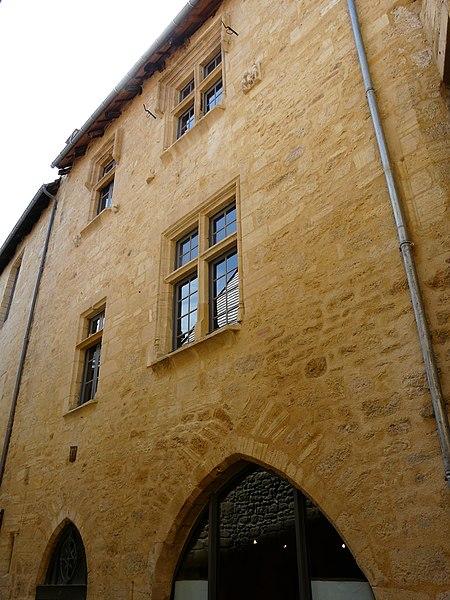 Photo du Monument Historique Maison, ou Hôtel Saint-Clar situé à Sarlat-la-Canéda
