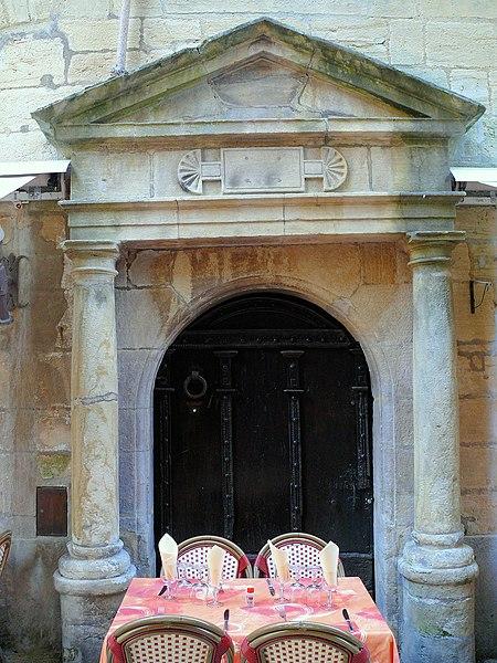 Photo du Monument Historique Maison situé à Sarlat-la-Canéda