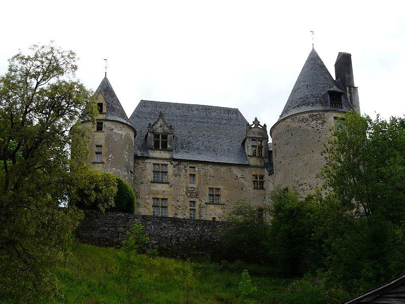 Photo du Monument Historique Château de la Forge situé à Savignac-Lédrier