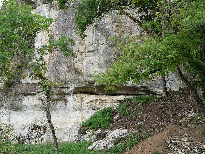Photo du Monument Historique Abri Blanchard situé à Sergeac